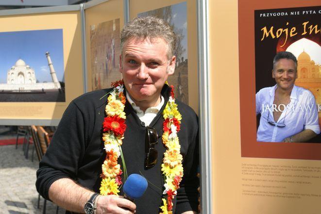 Nie wydaje się wam, że ten gościu na zdjęciu jest do mnie podobny - pytał z uśmiechem Jarosław Kret
