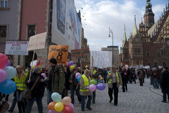 Manifa znów przejdzie przez samo centrum Wrocławia