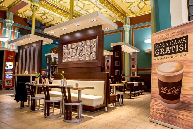 McDonald's powrócił na Dworzec Główny