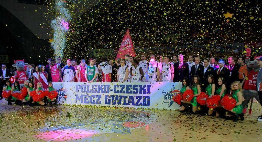 Polsko-czeski mecz gwiazd zakończył się zwycięstwem reprezentantów Tauron Basket Ligi