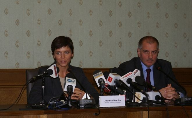 Joanna Mucha i Rafał Dutkiewicz