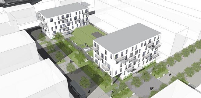 Tak mają wyglądać budynki, które na Nowych Żernikach postawi Vantage Development