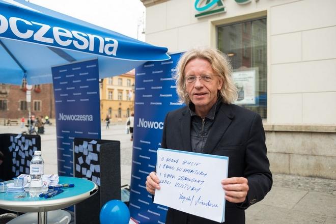 Wrocławski poseł Nowoczesnej zachęca do podpisywania się pod petycją ''Obywatele w obronie konstytucji''