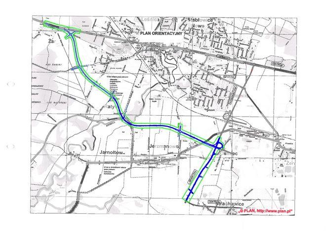 Przetarg na budowę obwodnicy Leśnicy, która połączy ul. Średzką z Graniczną miał zostać ogłoszony w lutym