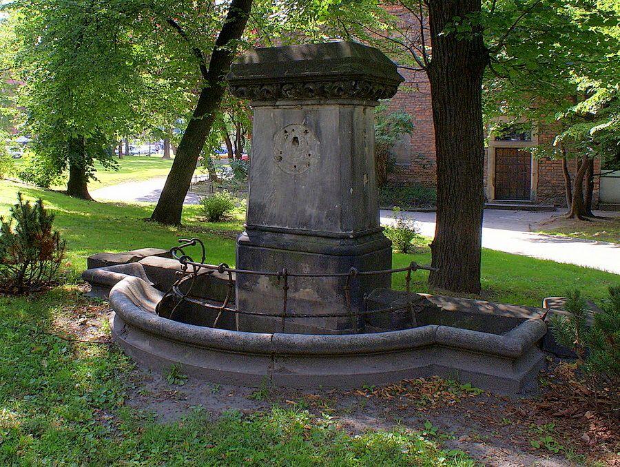 Obecny stan pomnika J. F. Knorra