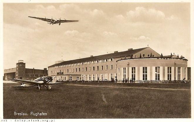 Lotnisko na Gądowie przed wojną