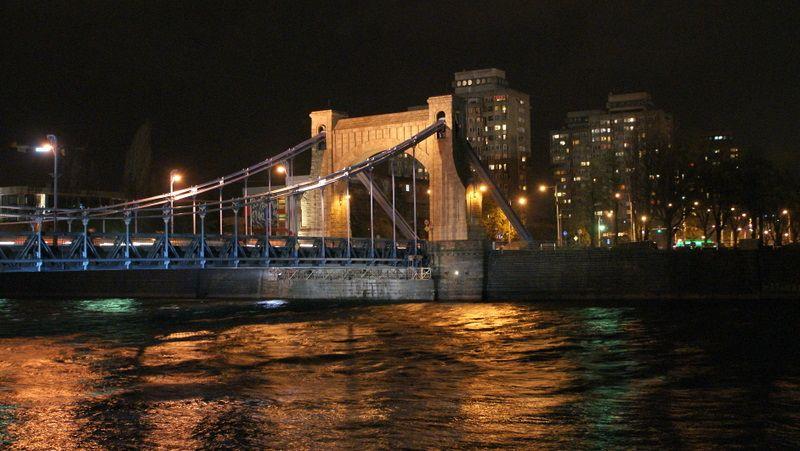 Iluminacja mostu Grunwaldzkiego nie zostanie jednak wygaszona