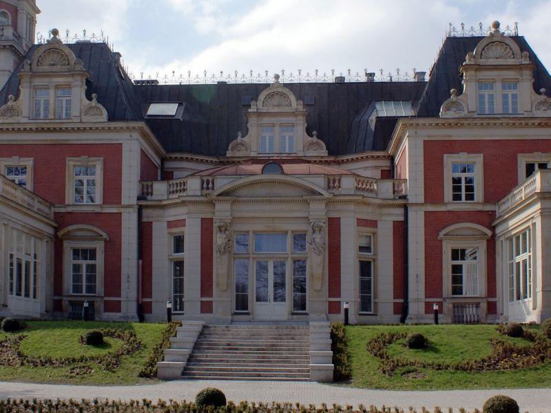 Wschodnia strona pałacu