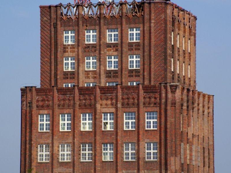 Górna część wieży