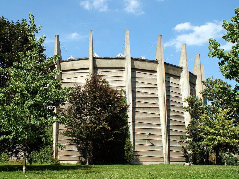 Rotunda od strony południowej