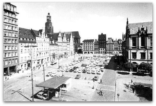 Plac Gołębi, lata 60. XX wieku