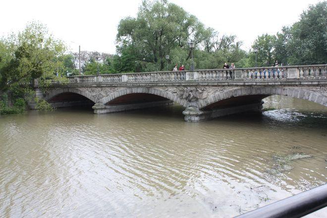 Rzeka Oława godz. 14:30.