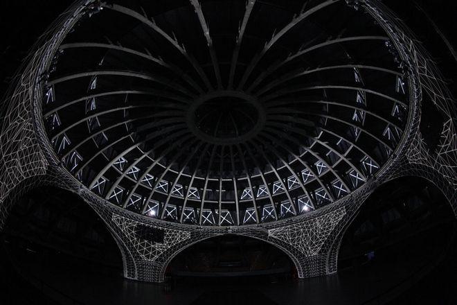 W Hali Stulecia można oglądać niesamowite pokazy video-mappingu