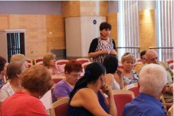 22.06.2011 – pierwsze spotkanie Dolnośląskiej Akademii  Samorządowej, grupa Akademii Senioralnej.