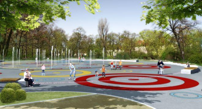 W Parku Staszica będzie można pojeździć na rolkach