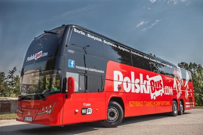 """PolskiBus.com wprowadza 20 nowoczesnych i komfortowych autokarów ADL Plaxton """"Elite i"""" na podwoziu Volvo B11R"""