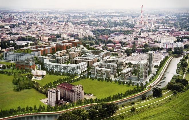 Epsilon powstał w ramach budowanych Promenad Wrocławskich