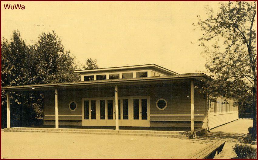 Oryginalny budynek przedszkola zaprojektowali Paul Heim i Albert Kempter