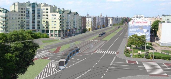 Tak po przebudowie zakończonej w przyszłym roku ma wyglądać ulica Pułaskiego