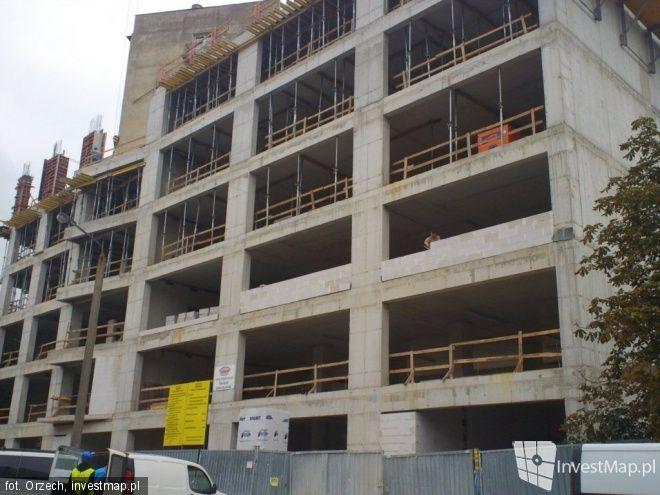 Budowa biurowca przy Racławickiej ma się zakończyć latem przyszłego roku