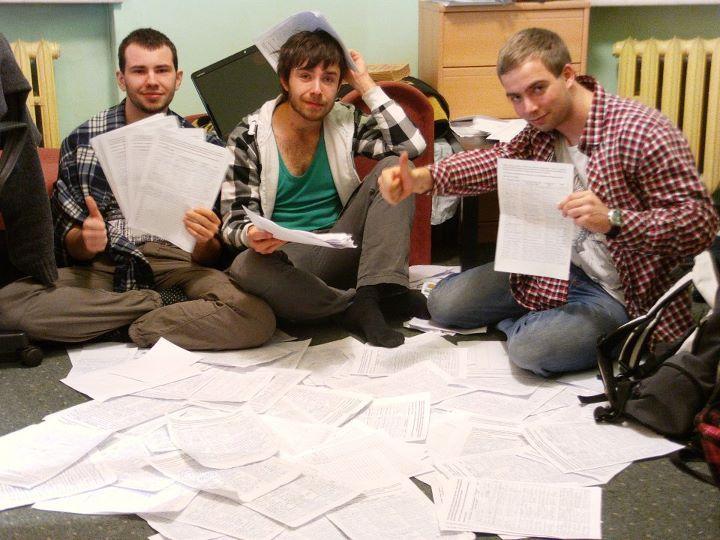 Pomysł zwołania referendum ws. ACTA to inicjatywa trzech wrocławskich studentów