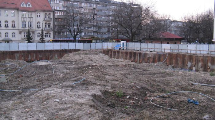 W przyszłym roku w tym miejscu ma powstać apartamentowiec Thespian.