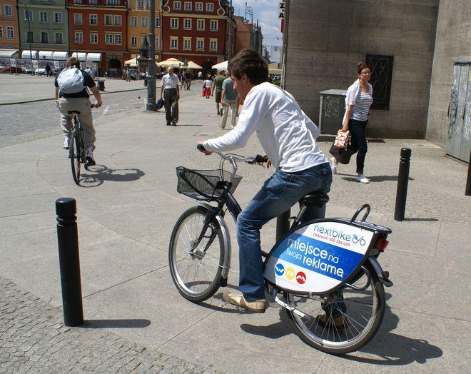 Miejskie rowery cieszą się wielką popularnością
