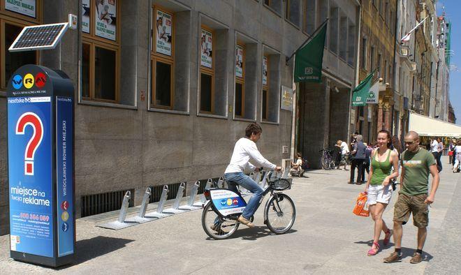 Zdarza się, że rowery miejskie padają łupem złodziei