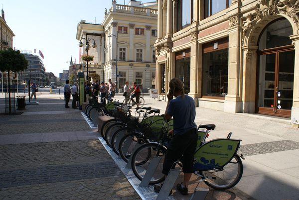 Uczestnicy gry będą mogli za darmo korzystać z rowerów miejskich