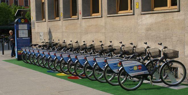 O bezpieczeństwo rowerów miejskich zadba od nowego sezonu firma ochroniarska