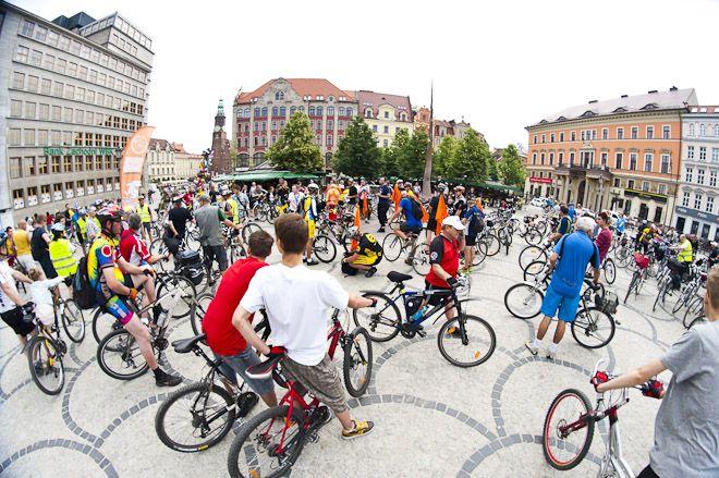Rowerzyści znów przejadą przez centrum miasta