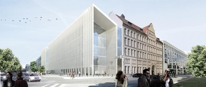 Tak ma wyglądać nowy budynek sądu apelacyjnego we Wrocławiu