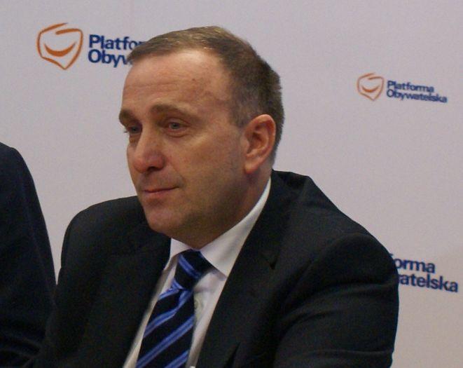 Grzegorz Schetyna został nowym szefem PO