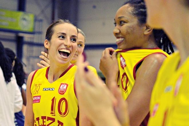 Wrocławskie koszykarki mają powody do radości