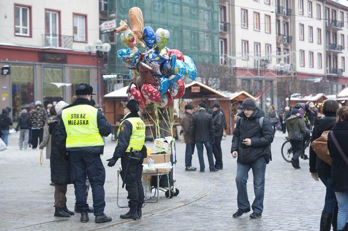 Patrol strażników miejskich złapał wandala