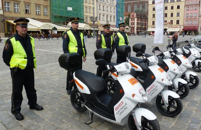 Interwencja strażników na wrocławskim Rynku była skuteczna