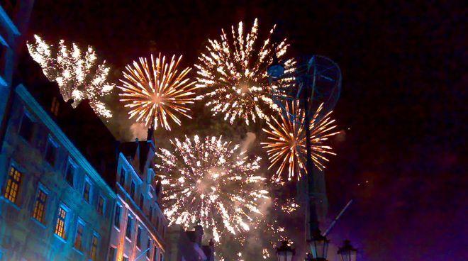 Wrocławianie po raz kolejny wspólnie świętowali nadejście Nowego Roku na koncercie w Rynku
