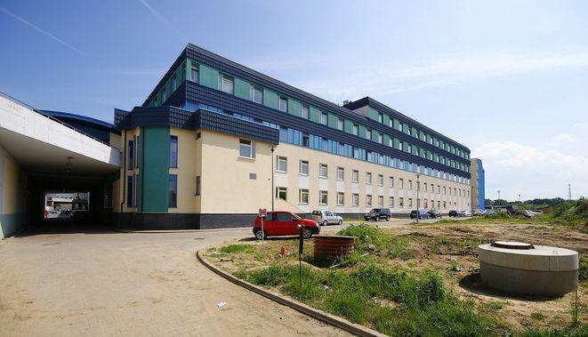 Szpital położony jest przy ulicy Borowskiej