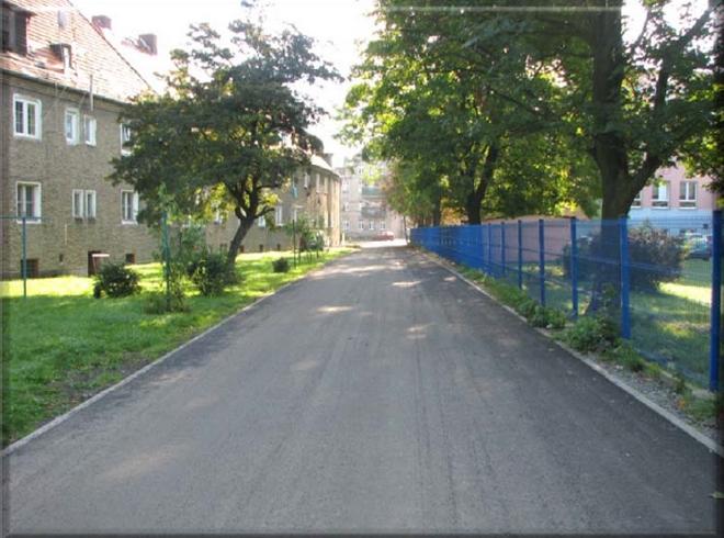 Nowa nawierzchnia pojawiła się na ul. Tatarskiej na Brochowie