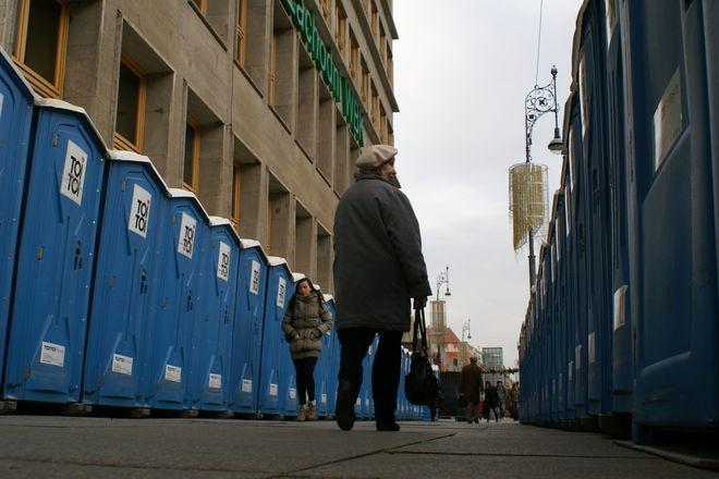W takiej scenerii można dziś dotrzeć od strony ulicy Ruskiej na Rynek