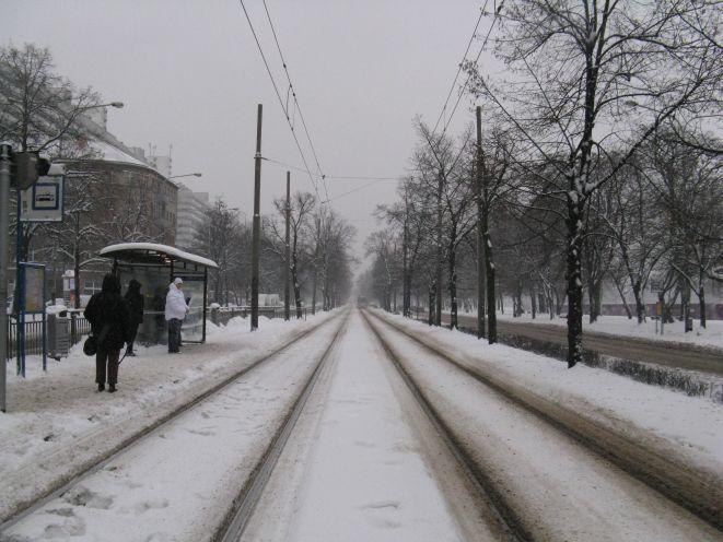 W poniedziałek we Wrocławiu śnieg będzie padał intensywnie
