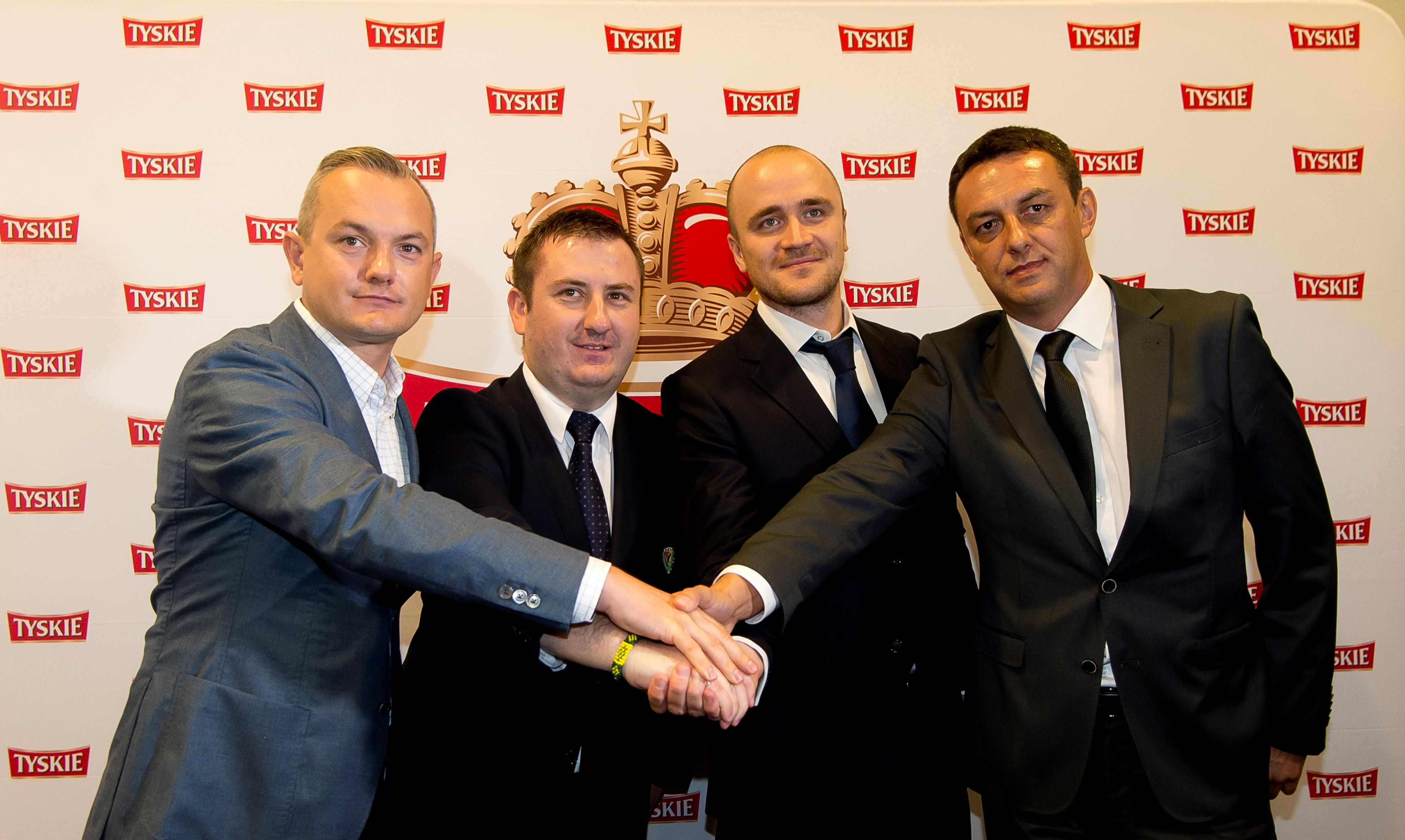 Nowym sponsorem piłkarskiego Śląska i wrocławskiego stadionu została marka Tyskie