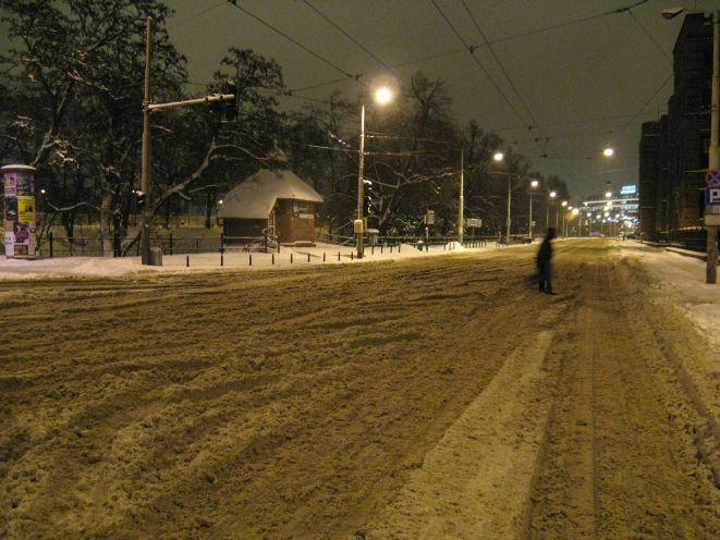 Jeszcze kilka dni temu tak właśnie wyglądały ulice w centrum.