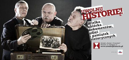 Akcję pod hasłem ''Uwolnij historię'' wsparli członkowie kabaretu Elita
