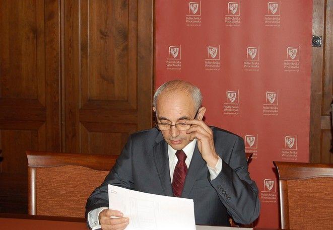 Prof. Więckowski będzie ubiegał się o reelekcję na fotel rektora PWr