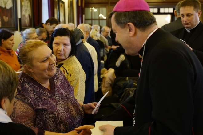 Metropolita wrocławski zawsze jest blisko wiernych w czasie świąt