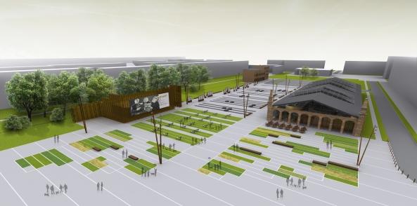 W zajezdni powstanie muzeum, a także m.in. niewielki park. Budowa ruszyła oficjalnie w piątek