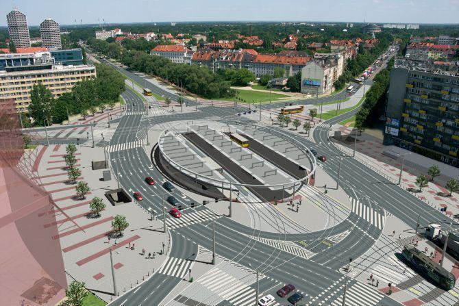 Pierwotny projekt zakładał budowę przejść dla pieszych. Jednak urzędnicy z nich zrezygnowali.