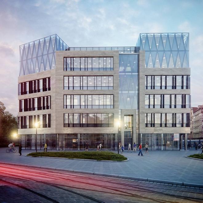 Tak będzie wyglądał biurowiec Wrocław 101