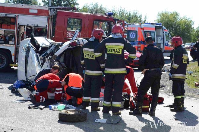 Pod Wrocławiem doszło do tragicznego wypadku, w którym zginął motocyklista [zdjęcie ilustracyjne]
